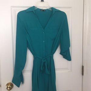 Blue dress from Express